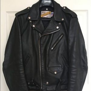 Schott's Perfecto Leather Jacket (size 40R)